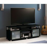 South Shore City Life 59'' TV Stand; Pure Black