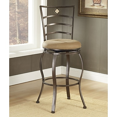 Hillsdale Marin 30'' Swivel Bar Stool with Cushion