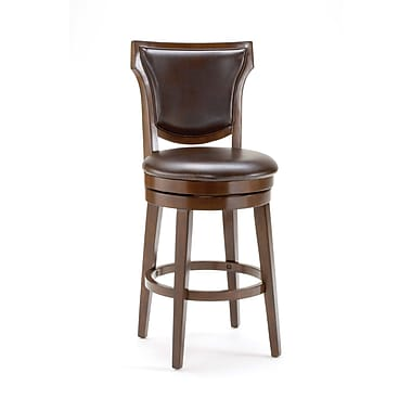 Hillsdale Country 26'' Swivel Bar Stool with Cushion