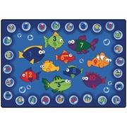 Carpets for Kids Literacy Fishing Kids Rug; 3'10'' x 5'5''