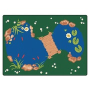 Carpets for Kids Printed The Pond Area Rug; 4'5'' x 5'10''