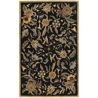 St. Croix Traditions Paradise Black Rug; 8' x 11'