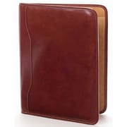 Clava Leather Tuscan Slim Padfolio; Tuscan Caf