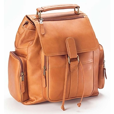 Clava Leather Vachetta Urban Survival Backpack; Tan