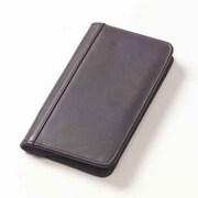 Clava Leather Quinley Zip Passport Wallet; Quinley Caf