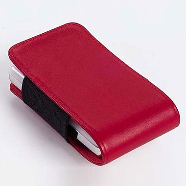 Clava Leather Large Leather iPod / Cell Phone Holder; Bridle Red