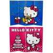 Oriental Furniture 48'' x 63'' Tall Double Sided Hello Kitty Birthday Cake 4 Panel Room Divider