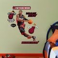 Fathead NBA Wall Decal; Miami Heat - Wade
