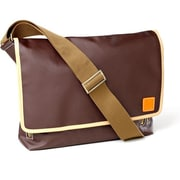 Clava Leather Carina Messenger Bag; Caf