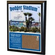 Steiner Sports MLB 8'' x 10'' Game Used Dirt Plaque; Dodger Stadium