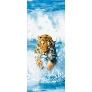 Brewster Home Fashions Ideal Decor Bengal Tiger Wall Mural