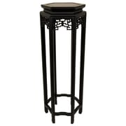 Oriental Furniture Plant Stand; 36''