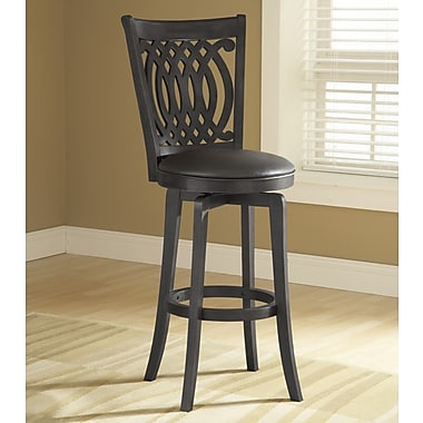 Hillsdale Van Draus 24'' Swivel Bar Stool with Cushion