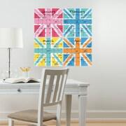 WallPops! WallPops Dry-Erase 4 Piece Calendar Board Wall Decal