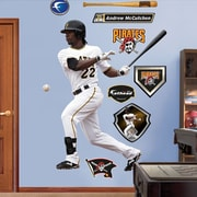 Fathead MLB Wall Decal; Pittsburgh Pirates - McCutchen