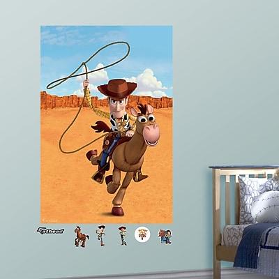 Fathead Disney Woody & Bullseye Wall Mural