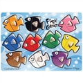 Melissa and Doug Fish Colors Mix'n Match Wooden Puzzle