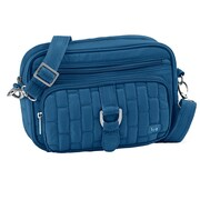 Lug Carousel Mini Cross Body Bag; Ocean Blue