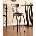 Wildon Home   Tatum 30'' Swivel Bar Stool with Cushion