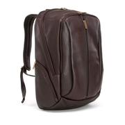 Le Donne Leather Laptop Backpack; Caf