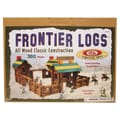 Ideal Wood Construction 300 pieces Frontier Logs in Canister