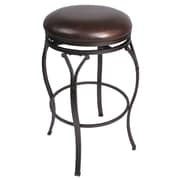 Hillsdale Lakeview 30'' Swivel Bar Stool with Cushion