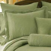 American Traditions French Tile Standard Sham; Tea Green