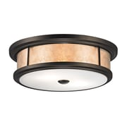 Elk Lighting Annondale 2 Light Flush Mount; 60W Medium Base