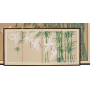 Oriental Furniture 18'' x 36'' Escape 4 Panel Room Divider