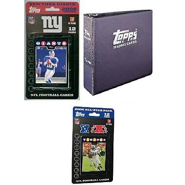 Topps NFL 2008 Trading Card Gift Set - New York Giants