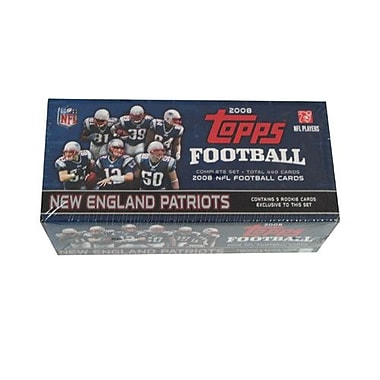 Topps NFL 2008 Factory Trading Card Set - New England Patriots (Set of 445)