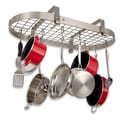 Enclume Low Grid Oval Rack; Stainless Steel