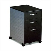 Mayline Eastwinds 3-Drawer Mobile File Pedestal; Anthracite