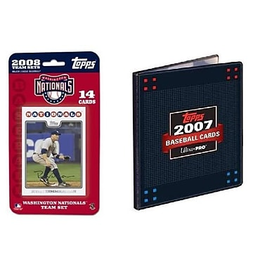 Topps MLB 2008 Trading Card Set - Washington Nationals