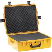 Pelican Storm Shipping Case with Foam: 19.7'' x 24.6'' x 8.6''; OD Green
