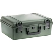 Pelican Storm Shipping Case with Foam: 16'' x 21.2'' x 8.3''; OD Green