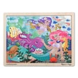 Melissa and Doug Mermaid Fantasea Wooden 48 Piece Jigsaw Puzzle Set