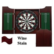 Black Canyon Dart Board Cabinet in Wine