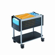 Safco Products Scoot 26'' Open Top Mobile File Cart