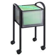 Safco Products 25'' Open File Cart; Black