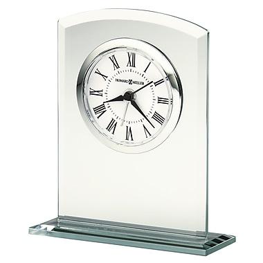 Howard Miller Medina Glass Table Top Clock