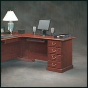 Sauder Heritage Hill  29.68'' H x 47.48'' W Reversible Desk Return
