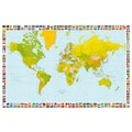 Brewster Home Fashions Ideal Decor Map Of The World Wall Mural