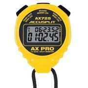 Accusplit Professional Dual Split Stopwatch; Yellow