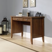 Sauder Shoal Creek Computer Desk with Keyboard Tray; Oiled Oak
