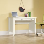 Sauder Shoal Creek Computer Desk with Keyboard Tray; Soft White