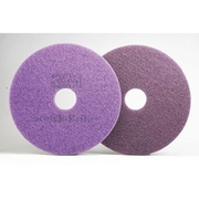 SCOTCH-BRITE 13'' Diamond Floor Pad in Purple