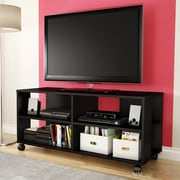 South Shore Jambory 46'' TV Stand; Pure Black