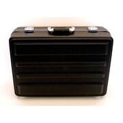Platt Heavy-Duty Polyethylene Case in Black: 13.75 x 19.63 x 7; No Wheels