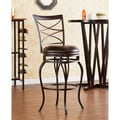 Wildon Home   Wellford 30'' Swivel Bar Stool with Cushion